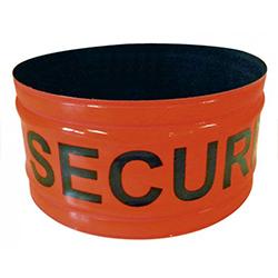 Brassard rétro-réfléchissant T.O.E Roll Strap® Orange-fluorescent