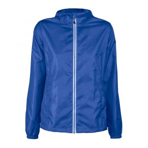 Veste cpe-vent Fem. Printer Red Flag Fastplant Lady Bleu