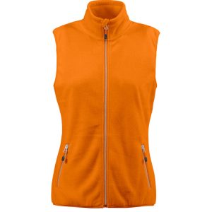 Bodywarmer polaire Femme Printer Red Flag Sideflip Lady Orange