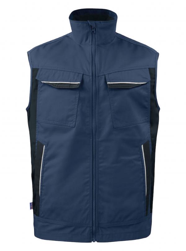 Bodywarmer multipoches ProJob Prio Series 5706 Bleu marine