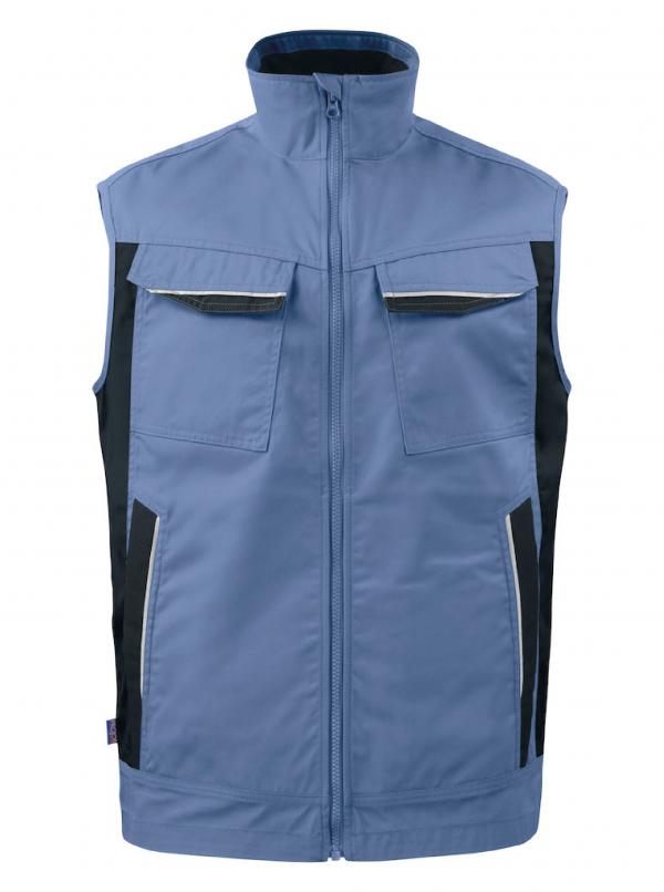 Bodywarmer multipoches ProJob Prio Series 5706 Bleu ciel