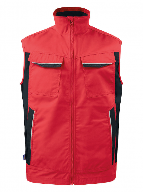 Bodywarmer multipoches ProJob Prio Series 5706 Rouge