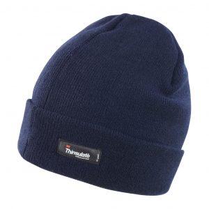 Bonnet à revers Result Thinsulate Bleu marine