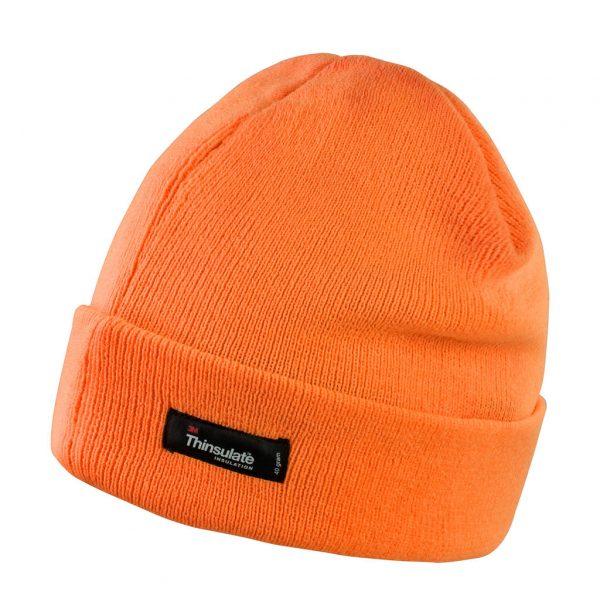 Bonnet à revers Result Thinsulate Orange