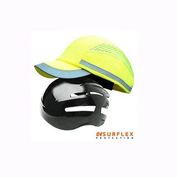 Casquette Anti-heurt SNV Surflex Luc Jaune-fluorescent