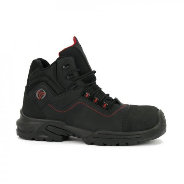 Chaussure de sécurité Uniwork Dusky S3 CI Noir-rouge
