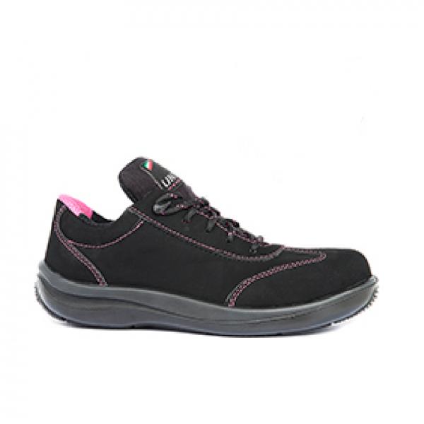 Chaussure de sécurité Uniwork Lolita S3 NOir-rose