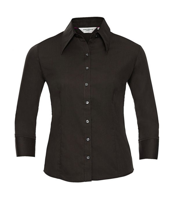 Chemise femme Russell tencel à manches longues