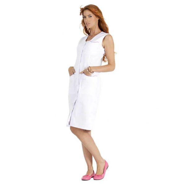 Blouse Femme Hasson Laurene sans manches Blanc