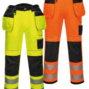 Pantalon poches flottantes Portwest PW3 HV