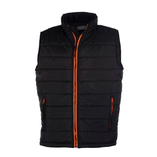 Bodywarmer homme Pen Duick City Noir-orange