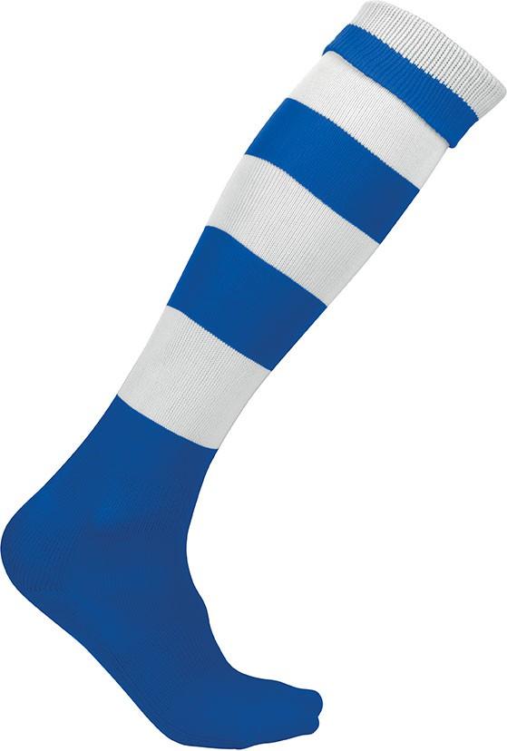 Chaussettes de sport cerclées Proact Bleu-roi-fonce-blanc