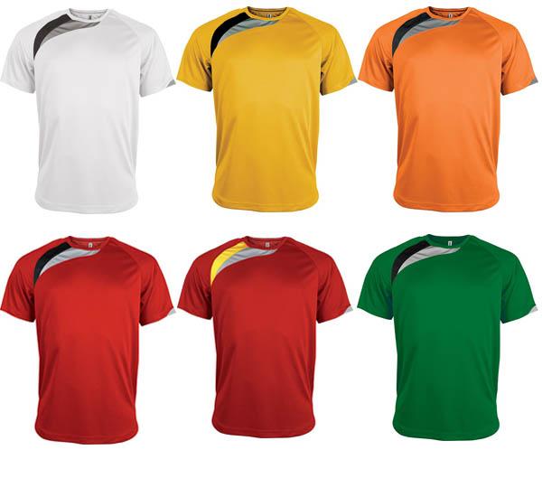 T-shirt Sport unisexe Proact 100% polyester