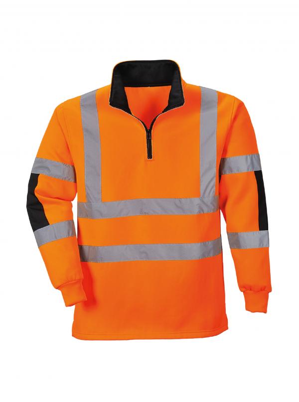 Pull Portwest Rugby Xenon haute visibilité Orange