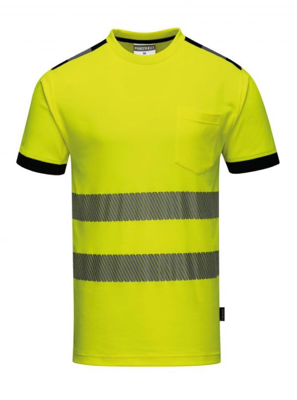 T-Shirt Portwest PW3 haute visibilité