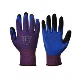Gants latex Portwest Duo-Flex Violetbleu