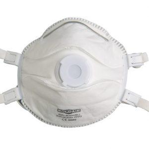 Demi-masque respiratoire (5 pièces) Singer