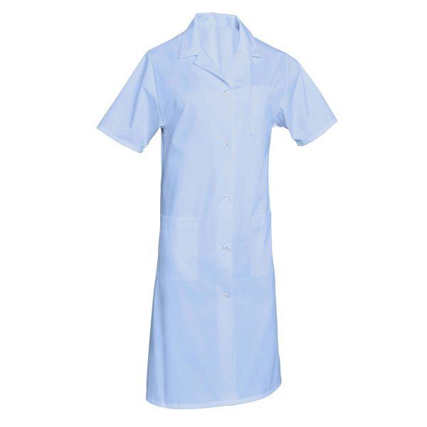 Blouse femme SNV Madona à manches courtes Bleu-ciel