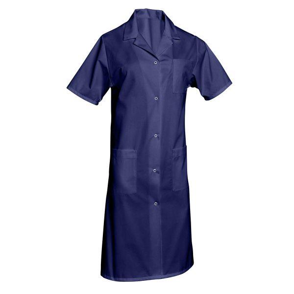 Blouse femme SNV Madona à manches courtes Bleu-marine