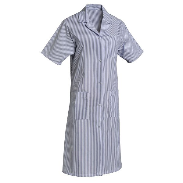 Blouse femme SNV Madona à manches courtes Raye-bleu