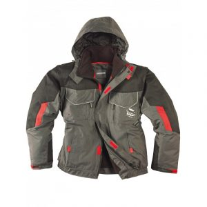 Blouson industrie 2en1 Singer Boston Gris