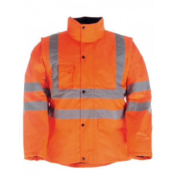 Blouson 2en1 haute visibilité Singer Vieno Orange