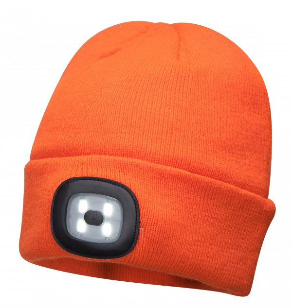 Bonnet double LED Portwest B029 Orange