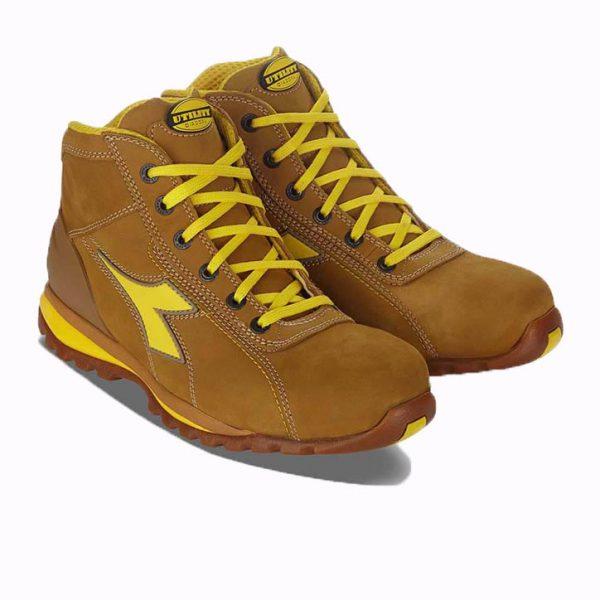 Chaussures de sécurité Diadora Glove II High S3 Marron-clair