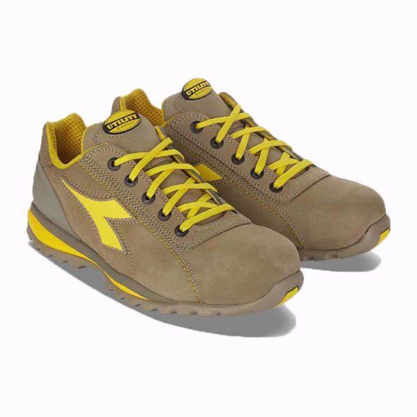 Chaussures de sécurité Diadora Glove II Low S3 Gris-pierre-lunaire