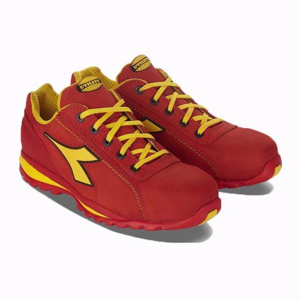 Chaussures de sécurité Diadora Glove II Low S3 Rouge-fonce