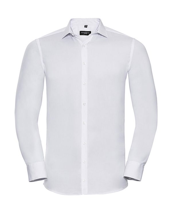 Chemise homme Russell stretch à manches longues