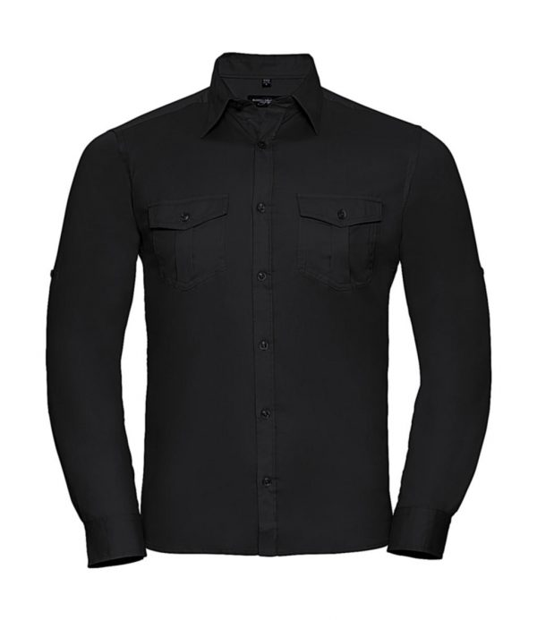 Chemise homme Russell à manches longues