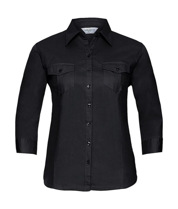 Chemise femme Russell à manches 3/4