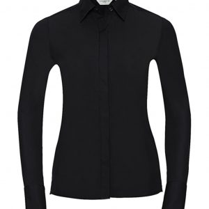 Chemise femme Russell stretch à manches longues