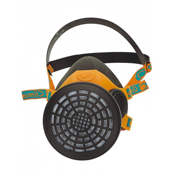 Demi-masque respiratoire caoutchouc Singer