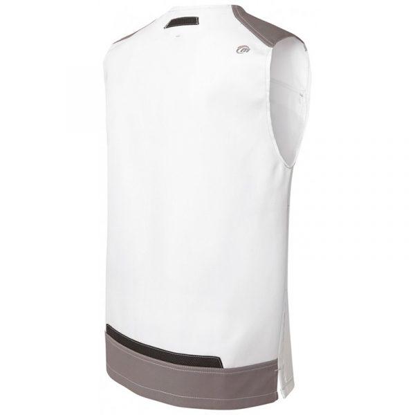 Bodywarmer Molinel White & Pro