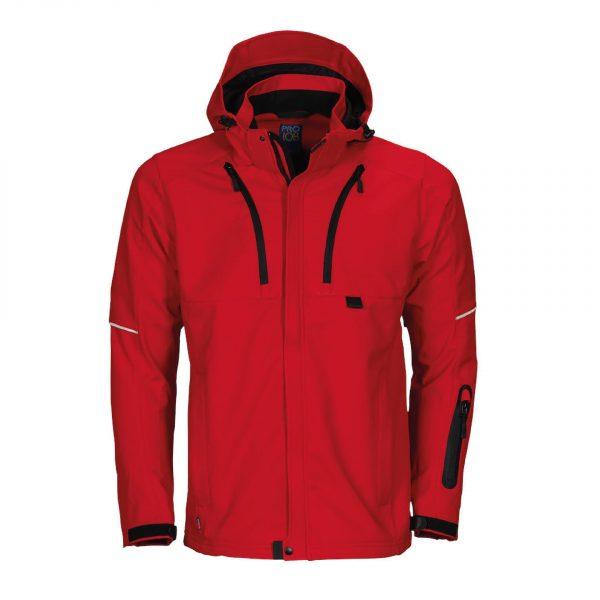 Manteau fonctionnel ProJob Prio Series « 3407 » Rouge