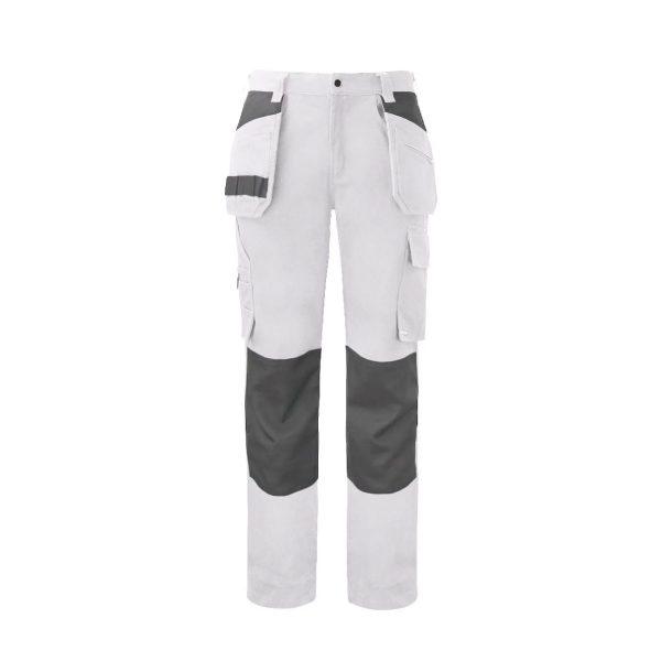 Pantalon 100% coton ProJob Prio Series « 5530 » Blanc