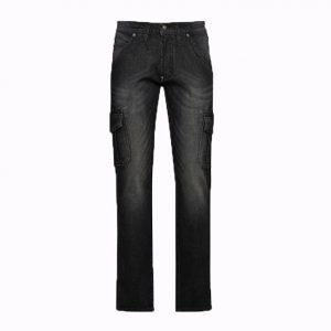 Jeans de travail Diadora Cargo Stone Noir délavé