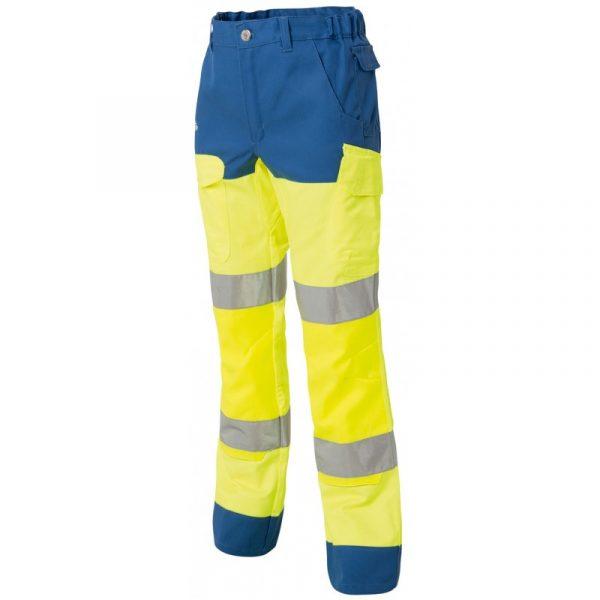 Pantalon genouillères haute visibilité Molinel Luklight