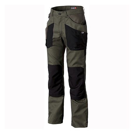 Pantalon genouillères esp. verts Molinel Naturtech Life