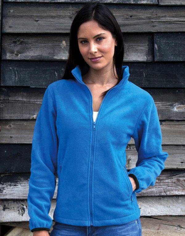 Polaire femme Result outdoor bleu