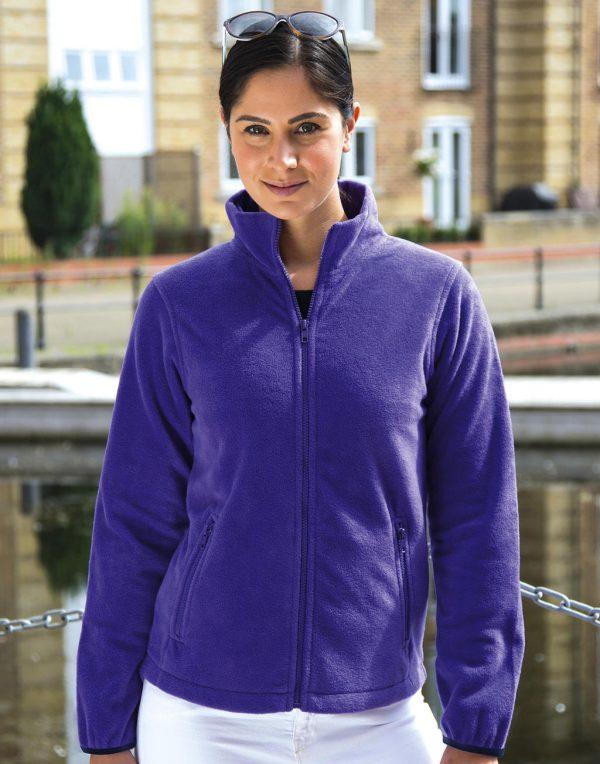 Polaire femme Result outdoor Violet
