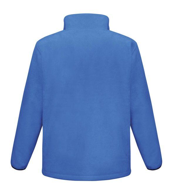 Polaire Result outdoor bleu dos