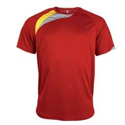 t-shirt proact Rouge-vif-jaune-gris