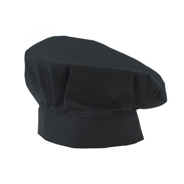 Toque de cuisinier Molinel noir