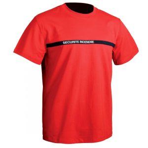 T-shirt T.O.E Sécu-One Sécurité Incendie