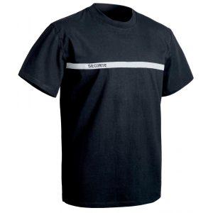 T-shirt T.O.E Sécu-One Sécurité - bande grise