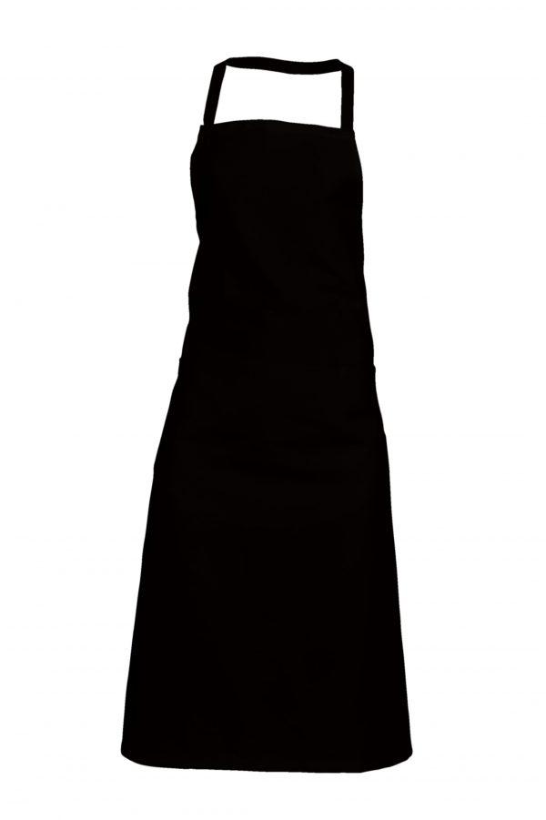 Tablier de cuisine SNV Valet avec poche Noir