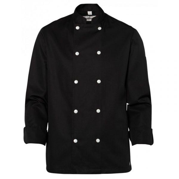 Veste de cuisinier Molinel Blake noir